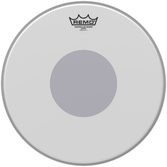 Remo CS 0110 10 Controlled Sound Coated 10 Zoll Snaredrumfell, Dot