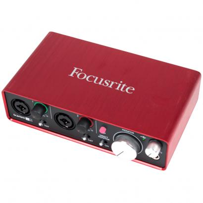 Focusrite Scarlett 2i2 (2nd Gen) USB-Audio-Interface