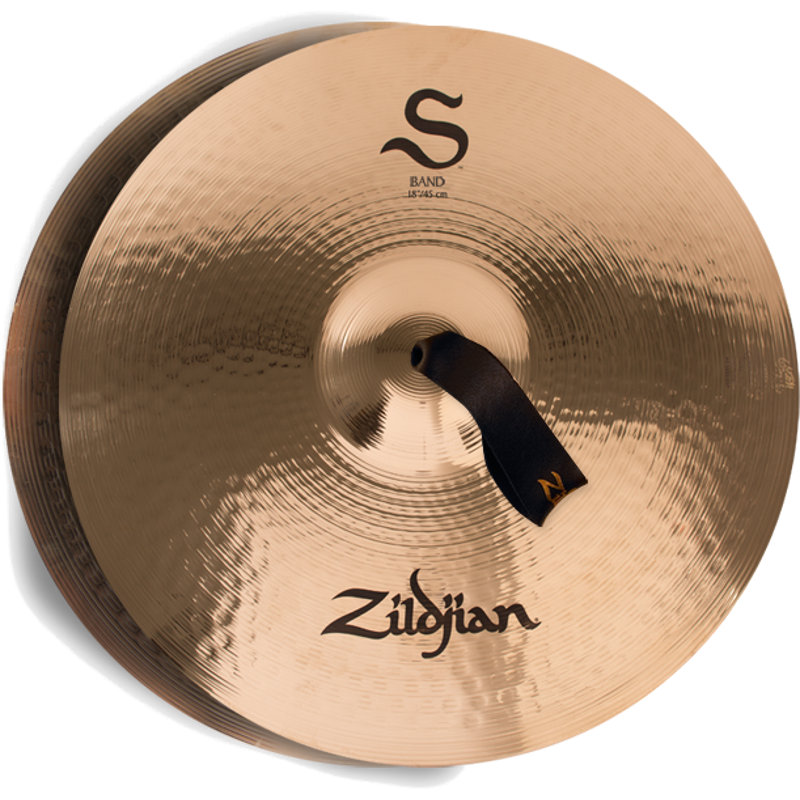 Zildjian S Family Medium Thin Orchester Becken, 18 Zoll(2er Set)