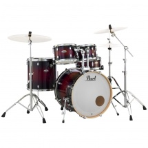 Pearl DMP925F/C261 Decade Maple Gloss Deep Red Schlagzeug