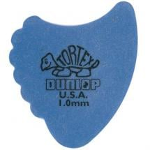 Dunlop Tortex Fins Plektrum blau, 1 mm