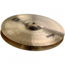 Stagg DH-HR14B 14 Zoll Brilliant Rock Hi-Hat Beckenpaar