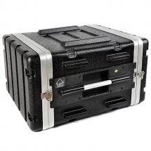 Stagg ABS-6U 19 Zoll Tunnel-Flightcase 6 HE