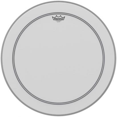 Remo P3-1126-C2 Powerstroke 3 Coated 26 Zoll Bassdrum-Schlagfell