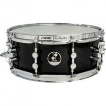 Sonor 1407SDW Essential Force Black Snare, transparent, 14 x 7 Zoll