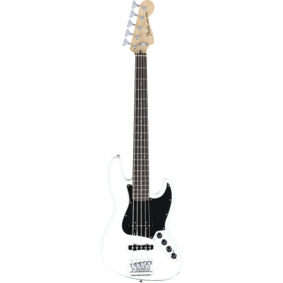 Fender Deluxe Active Jazz Bass V, Olympic White