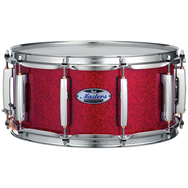 Pearl MCT1465S|C319, Inferno Red 14 x 6,5 Zoll Snare Drum