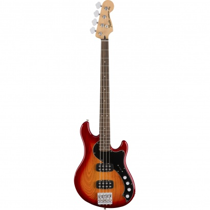 Fender Deluxe Active Dimension Bass HH, Aged Cherry Burst RW