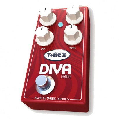 (B-Ware) T-Rex Diva Drive distortion overdrive pedal