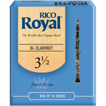 D'Addario Woodwinds RCB1035 Rico Royal Blätter für B-Klarinette 3,5