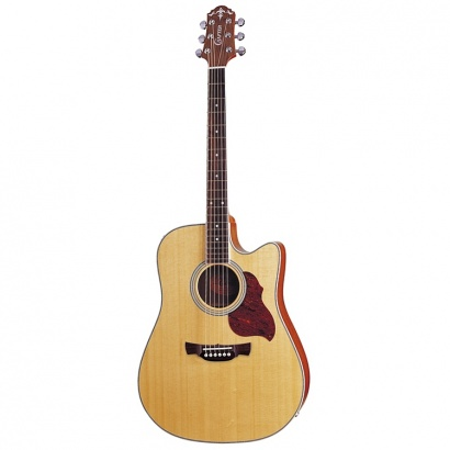 (B-Ware) Crafter DE6-N electro-acoustic steel-string guitar natural
