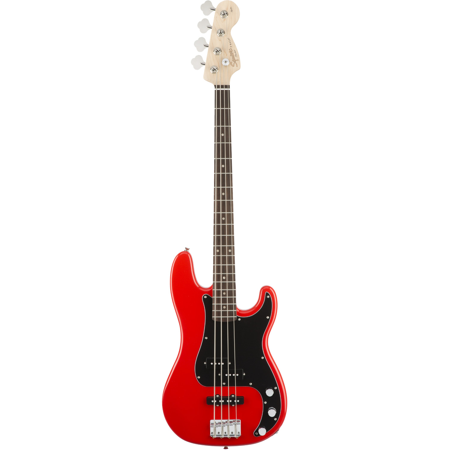 Squier Affinity Precision Bass PJ, Race Red RW