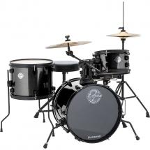 Ludwig LC178X016DIR Questlove Pocket Kit, Black Kinder-Schlagzeug