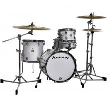 Ludwig Breakbeats by Questlove Kesselsatz, White Sparkle