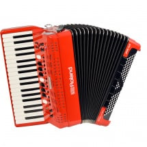 Roland FR-4X-RD V-Accordion (Pianoakkordeon), rot