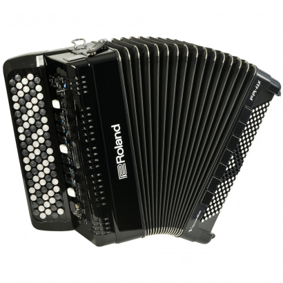 Roland FR-4XB BK V-Accordion (Knopfakkordeon), schwarz