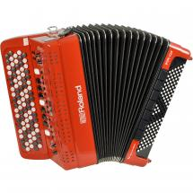 Roland FR-4XB RD V-Accordion (Knopfakkordeon), rot