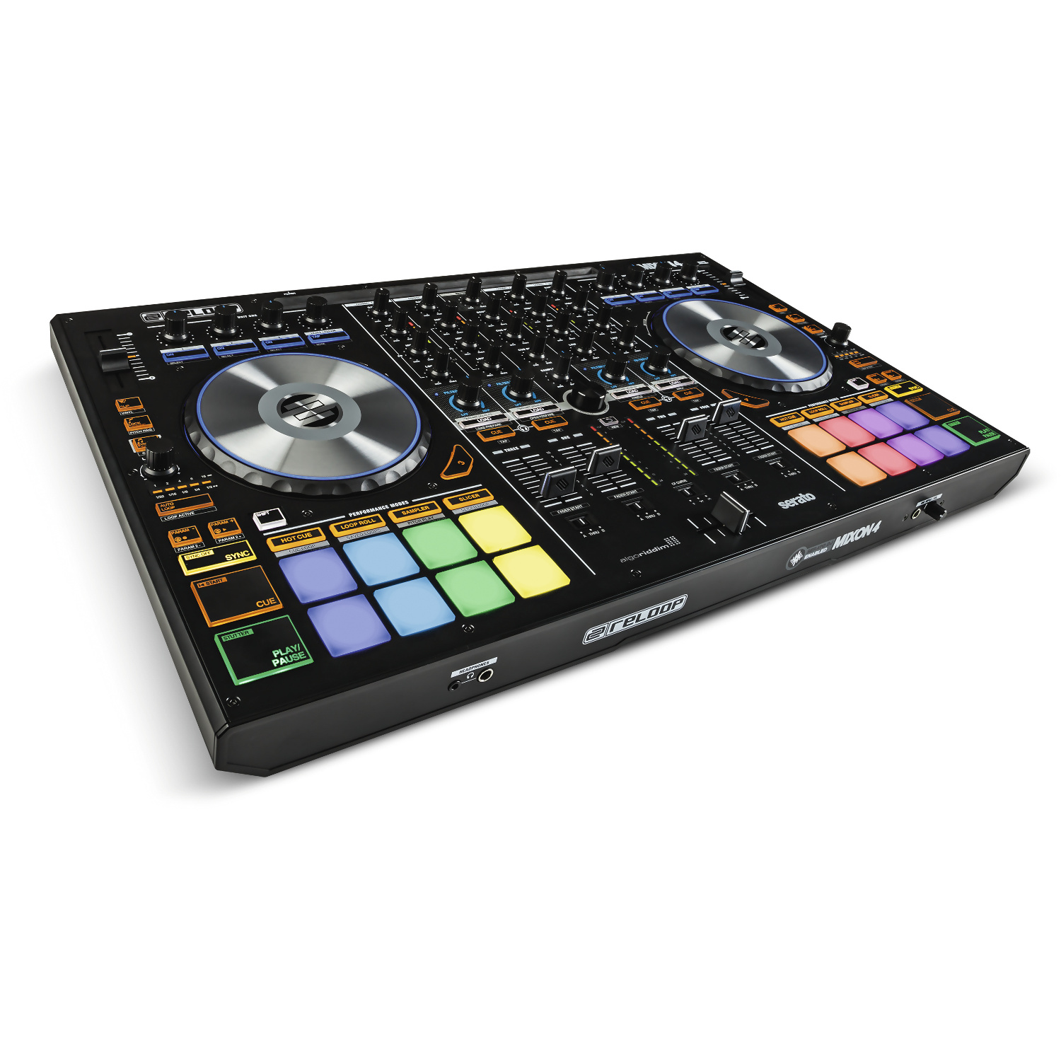 reloop mixon 4 4 kanal dj controller kaufen bax shop. Black Bedroom Furniture Sets. Home Design Ideas