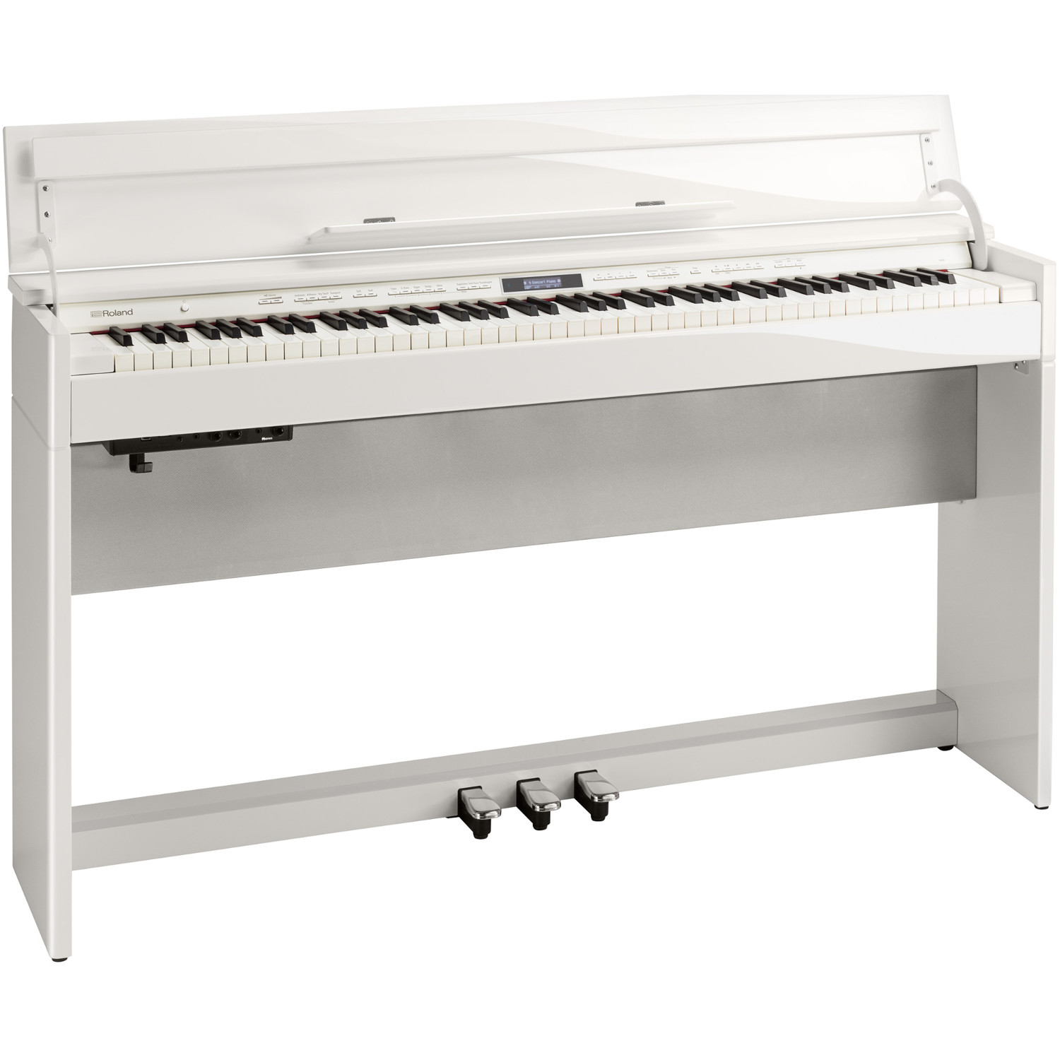 roland dp603 pw e piano elegant polished white kaufen bax shop. Black Bedroom Furniture Sets. Home Design Ideas