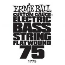 Ernie Ball 1775 flatwound .075 Saite für E-Bass