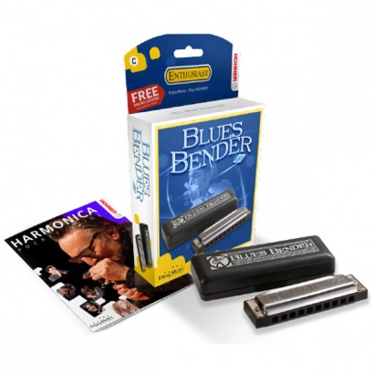 Hohner Blues Bender C mit Blues-Brille