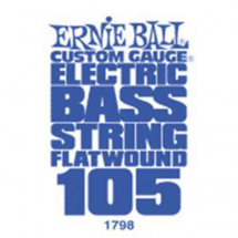 Ernie Ball 1798 Flatwound .105 Saite für E-Bass