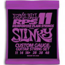 Ernie Ball 2242 Reinforced Plain Power Slinky 011 - 048-Saiten