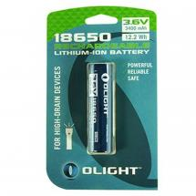 Olight 18650 2600mAh Akku in Blisterverpackung