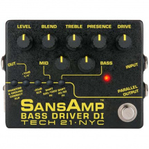 Tech 21 SansAmp Bass Driver DI Version 2