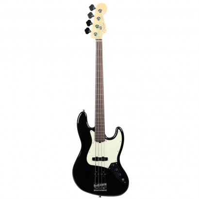 Fender American Professional Jazz Bass Fretless Black RW