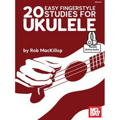 Mel Bay - 20 Easy Fingerstyle Studies For Ukulele