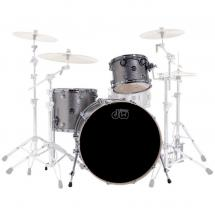 DW Drums Performance Pewter Sparkle 24 Kesselsatz, 3-teilig