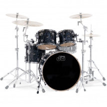 DW Drums Performance Black Diamond 22 Kesselsatz, 4-teilig