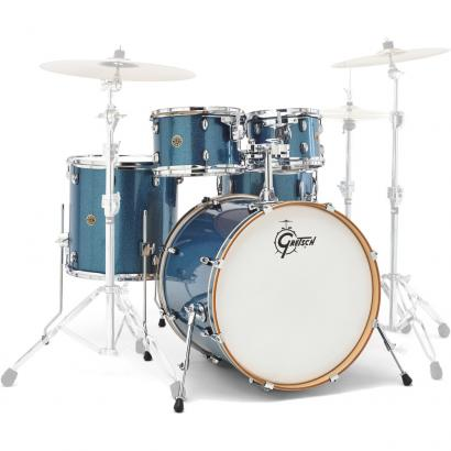 Gretsch Drums Catalina Maple 5-teiliger Kesselsatz, Aqua Sparkle