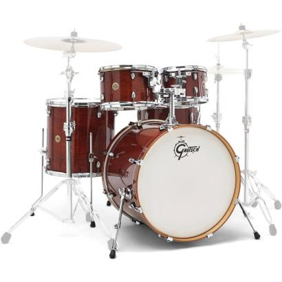 Gretsch Drums Catalina Maple 5-teiliger Kesselsatz, Walnut Glaze
