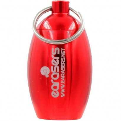 Earasers REDCAN Stash-Can Red Aufbewahrungsbox f. Ear Plugs, rot