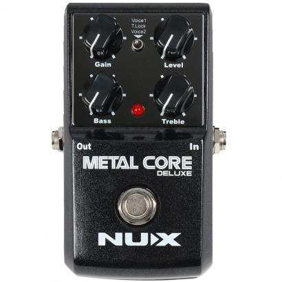 NUX Metal Core Deluxe Distortion-Pedal