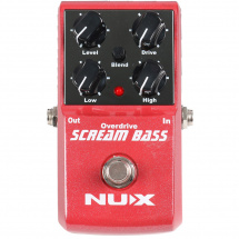 NUX Scream Bass Overdrive-Pedal