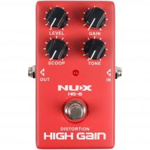 NUX HG-6 Modern High Gain Distortion Effektpedal