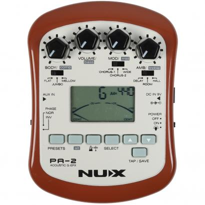 NUX PA-2 Portable Acoustic Guitar EFX