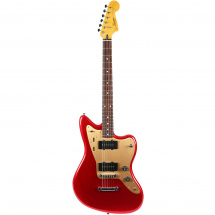 Squier Deluxe Jazzmaster Stop Tailpiece Candy Apple Red RW