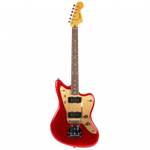Squier Deluxe Jazzmaster Tremolo Candy Apple Red RW