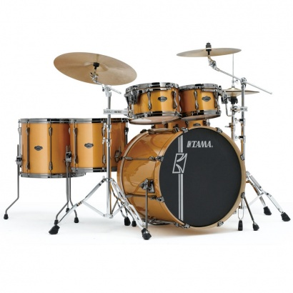 Tama Superstar HD Maple Golden Yellow Metallic 5-teiliger Kesselsatz