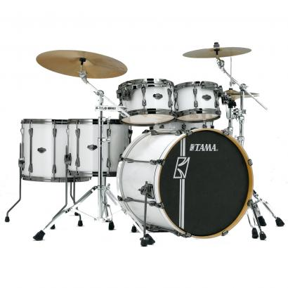Tama Superstar HD Maple Sugar White 5-teiliger Kesselsatz