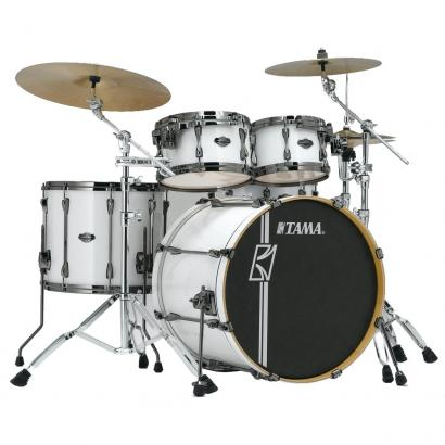 Tama Superstar HD Maple Sugar White 4-teiliger Kesselsatz