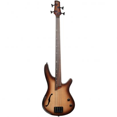 Ibanez SRH500F Bass Workshop Natural Browned Burst Flat