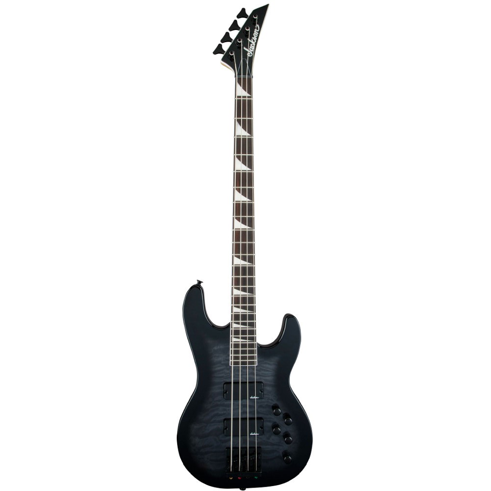 Jackson JS Series Concert Bass JS3Q Transparent Black
