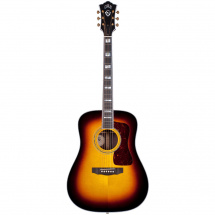 Guild USA D-55E Antique Sunburst mit Tonabnahmesystem