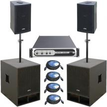 JB systems Vibe 10-15S Speaker-Set Promo-Pack