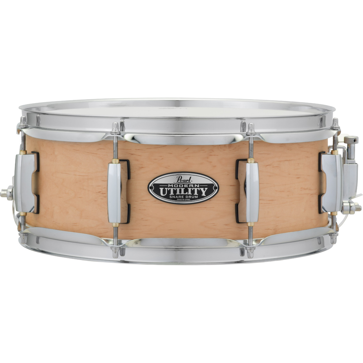Pearl MUS1350M|C224 Modern Utility 13 x 5 Zoll Snare Drum Natural